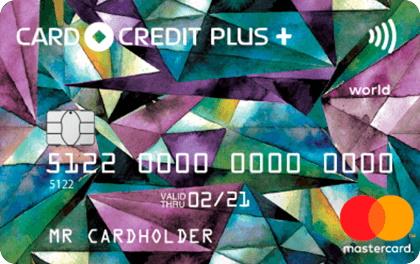 Карта рассрочки Кредит Европа Банк Card Credit Plus